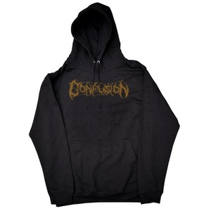CONFUSION (コンフュージョン,パーカー) CLOCK TOWER HOODIE black BY FRENCH