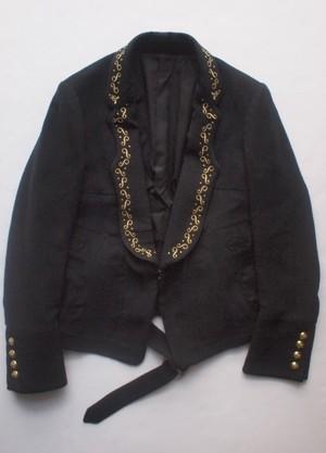 TAKAHIROMIYASHITATheSoloist. violin collar short length jacket. / sj.0005AW16