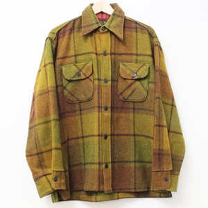 70's Arrow C.P.O check shirts L