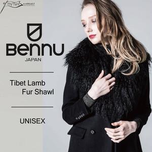 【BENNU】Tibet Lamb Fur Shawl
