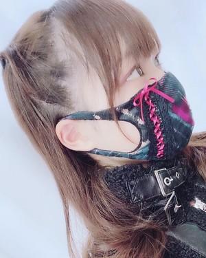 【衣装マスク】チェックマスク