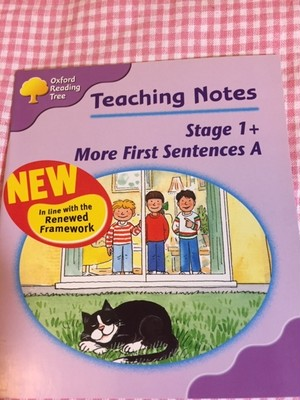 ORT Teaching Notes set(Stage1+ More First Sentences A)