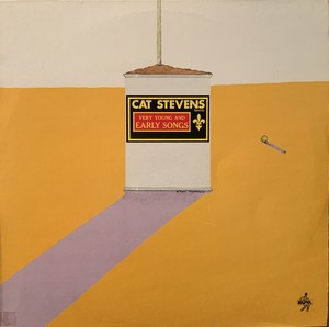 【LP】CAT STEVENS/Very Young And Early Songs