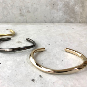 【LB-6BR】Like a wave bangle  type-A