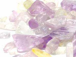 ○★天然石のさざれ★クンツァイト 100g