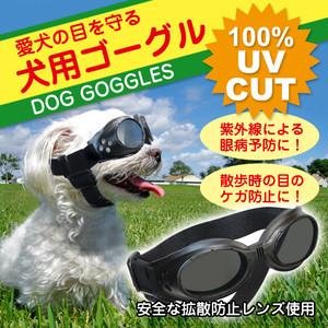 ○愛犬の目を紫外線やゴミなどから守る犬用ゴーグルです。  ワンちゃんだって目がつらい!愛犬の目を紫外線やゴミから守る!犬用ゴーグル