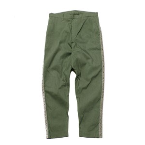 Enharmonic TAVERN Side Studs Sarrouel Pants -Khaki < LSD-AH3P2 >