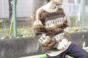 100% Alpaca Knit Sweater