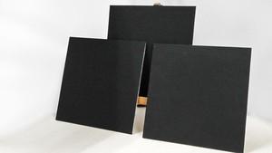 ボード 正方形・15cm 【背面木枠セット】【 3枚セット 】
