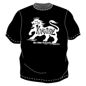 The KING LION Tシャツ No.8(BW)