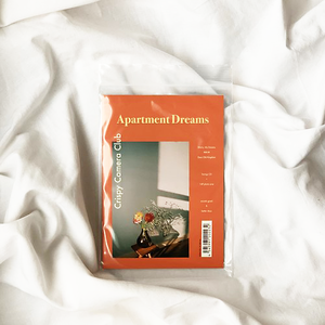 Crispy Camera Club / Apartment Dreams (14P photo zine + CD)