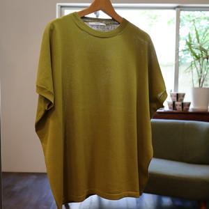 「JHON BULL」コットンニットTシャツ