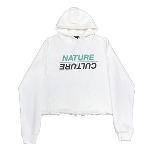 P.A.M NATURE/CULTURE HOODED SWEAT WHITE