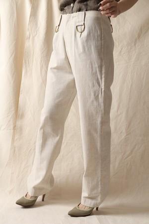 Natural Semi Wide Pants