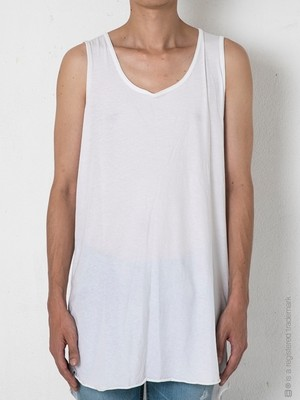 【AG by EXPERIMENT】LONG TANK TOP