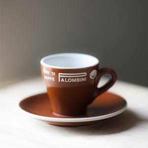 70〜80s ACF製 PALOMBINI エスプレッソ・カップ & ソーサー (Italy)