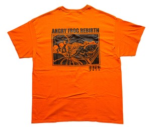 MINDWEAPON × ANGRY FROG REBIRTH T-shirts  Orange
