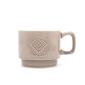 オリジナルマグカップ | グレー | 紬柄