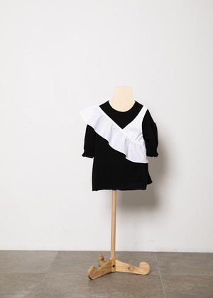 【21SS】folkmade(フォークメイド) one shoulder white(S/M)