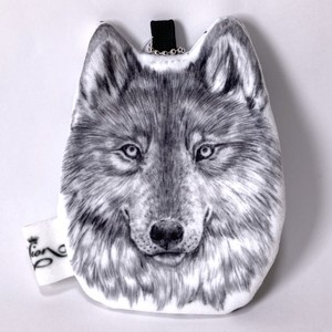 【PAViLiON】ミニポーチ オオカミ