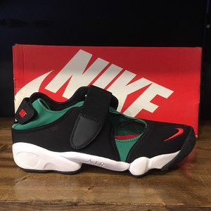 【NIKE】AIR RIFT QS BLACK/ATOM RED-FOREST-WHITE (789491-066)