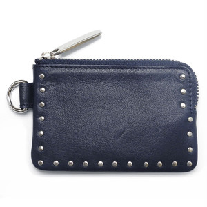 183AWA22 DC Leather coin case 'corner studs' KS DC コインケース