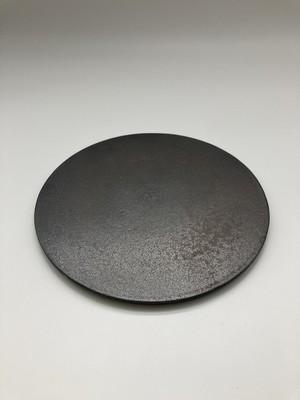 金結晶平丸皿