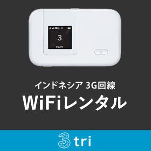 インドネシア用 モバイルWiFiレンタル 17日用 大容量 期間合計4.4GB