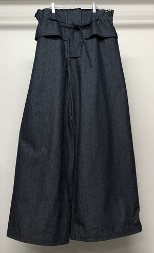 PER GOTESSON SUPER WIDE LEG DENIM TROUSERS