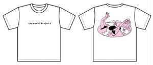 WATASHI  /  Record Girl T-shirt