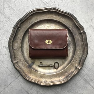 Morfeo Leather half-wallet / Cioccolato