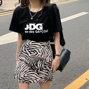 ヒョウ柄スカート D1423