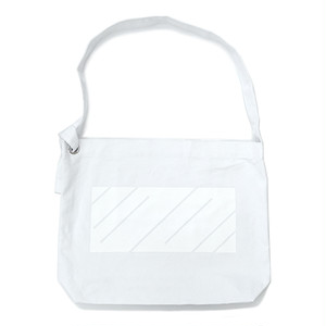 scar /////// MONOLITH RING SHOULDER BAG (White)