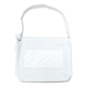 scar /////// MONOLITH RING SHOULDER BAG (White)