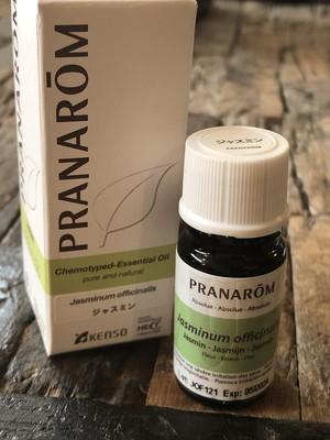 ジャスミン<天然植物100%>精油PRANAROM社 10ml