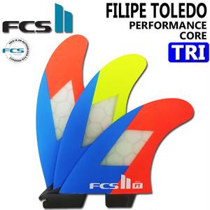 FCS 2 フィン FT PC NEON TRI M フィリペトレド