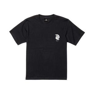 ホプリテスロゴ#3 半袖 黒