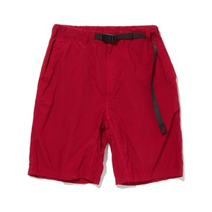 WM× Gramicci GARMENT DYED EASY SHORT PANTS - RED