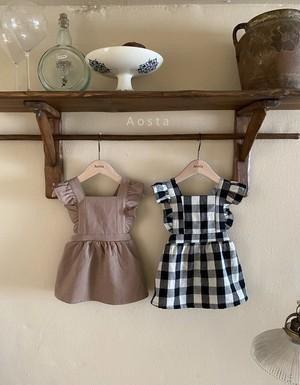【予約販売】Le pain dress〈Aosta〉