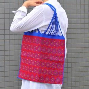メキシコ織物バッグ(ダイヤ柄)B