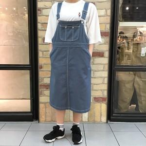 ツイルジャンパースカート (140049)