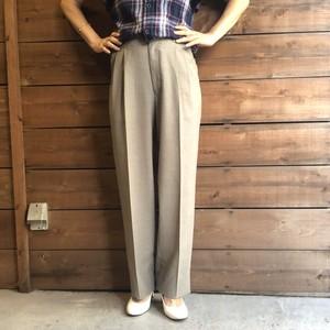 Wide tuck pants 【Vintage  product】