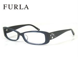 フルラ メガネ VU4764j 9mb FURLA 眼鏡 ジャパンフィット モデル ダークネイビー レディース 女性用