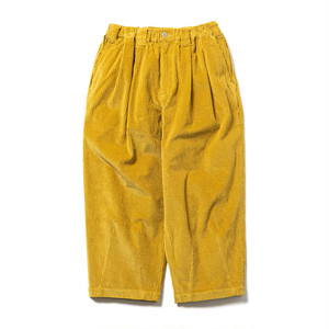 TIGHTBOOTH CORD BAGGY PANTS Mustard L