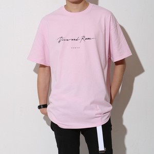 SIMPLE LOGO TEE(LIGHT PINK)