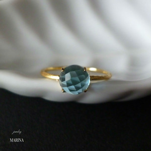 Candy - blue topaz ring
