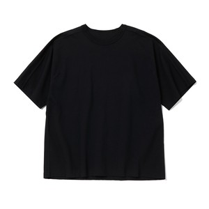 DARTED T-SHIRT - BLACK