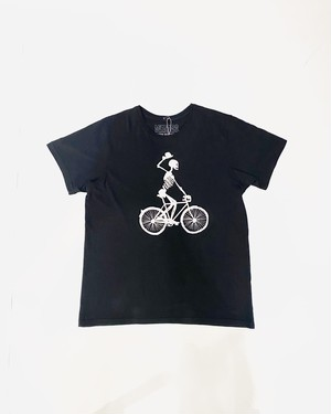 Hey bones on the bicycl T-shirt