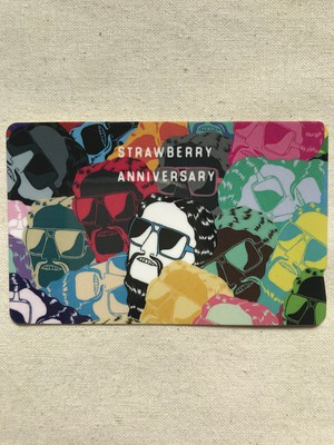 「STRAWBERRY ANNIVERSARY」IC Card Sticker (D)
