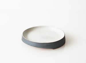 TSUKI(YUKI) プレート 150(瓦食器・丸皿)